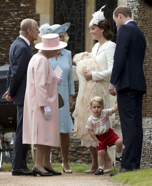 Η Βάπτιση της Πριγκίπισσας Charlotte! Δείτε Φωτογραφίες!