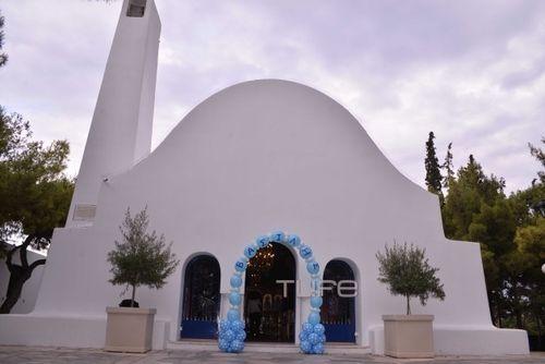 Αγγελική Ηλιάδη - Σάββας Γκέντσογλου: Φωτογραφίες από τη Βάπτιση του Γιου τους