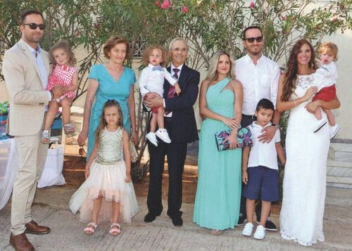 Γιώργος Λιανός - Ανθή Ανδροτσάκη: Βάφτισαν τους γιους τους!