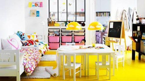 Χρώμα Στο Δάπεδο Του Παιδικού Δωματίου!